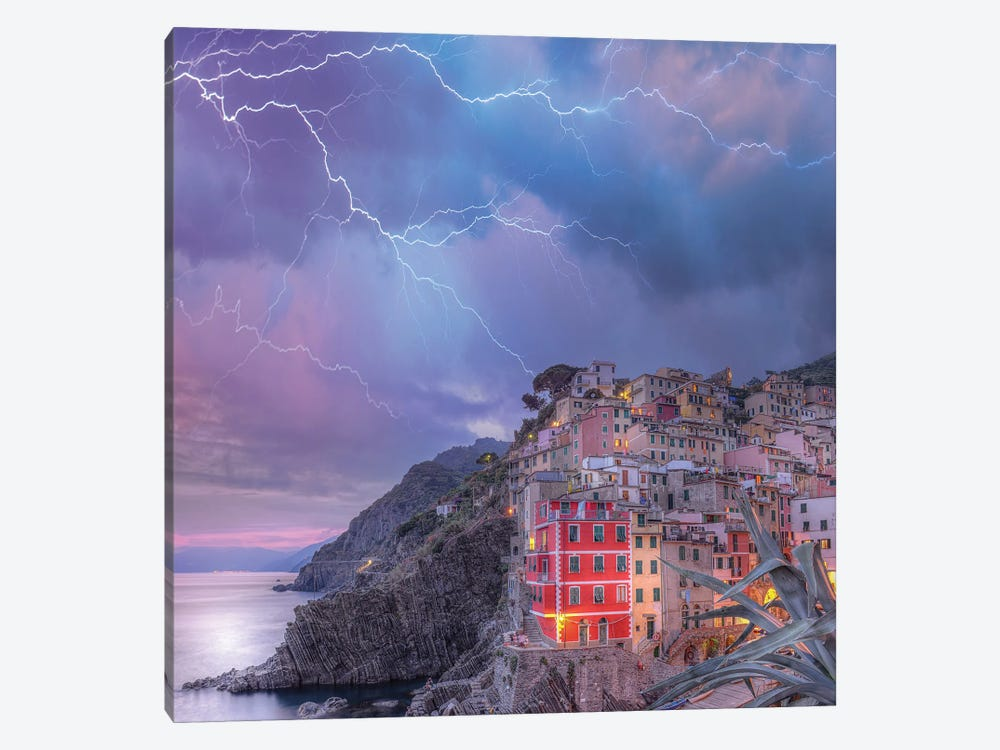 Cinque Terre Static by Brent Shavnore 1-piece Art Print