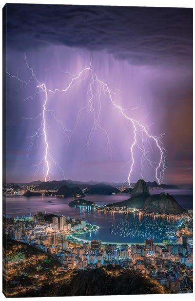 Rio Lights Canvas Art Print