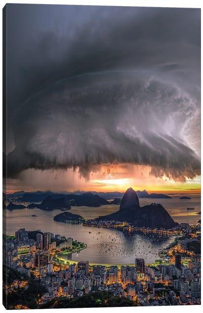 Rotation Over Rio Canvas Art Print