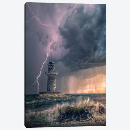 Mystery Light Canvas Print #BSV48} by Brent Shavnore Canvas Wall Art
