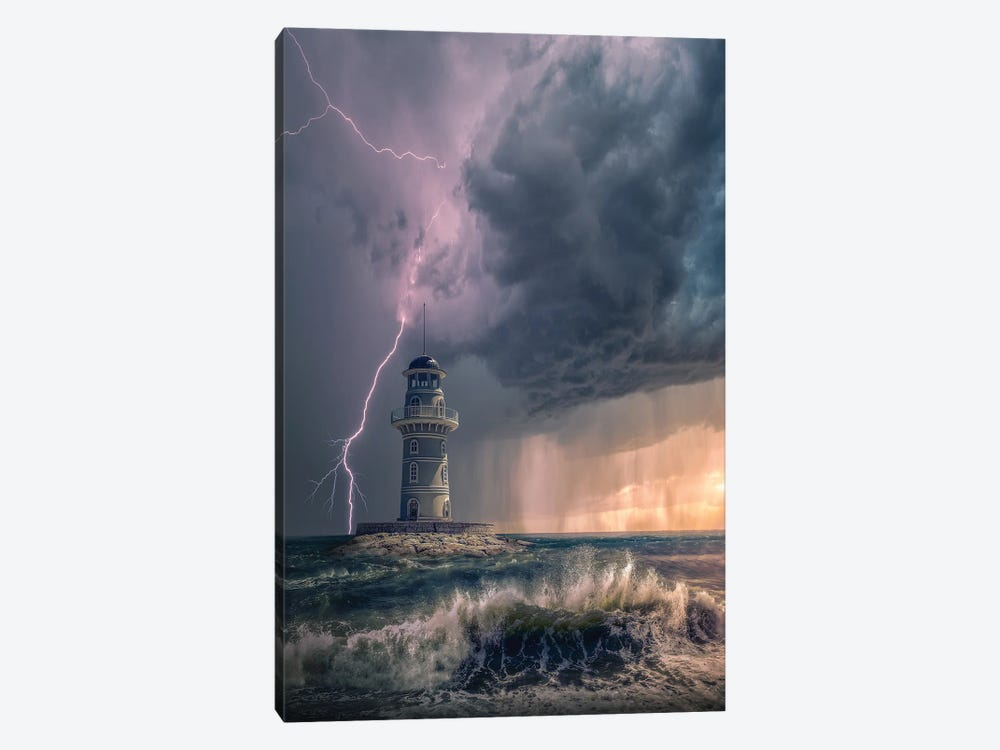 Mystery Light by Brent Shavnore 1-piece Canvas Art Print