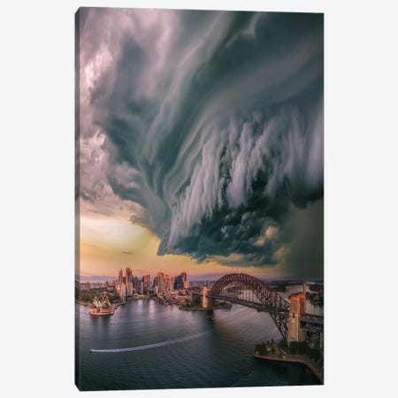 Sydney Wedge Canvas Print #BSV50} by Brent Shavnore Canvas Print