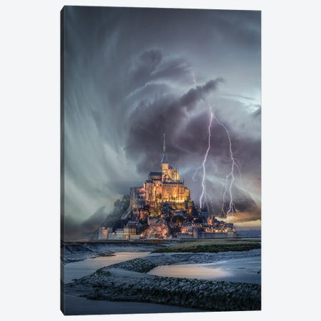 Mt. St. Michael Twist Canvas Print #BSV51} by Brent Shavnore Canvas Print