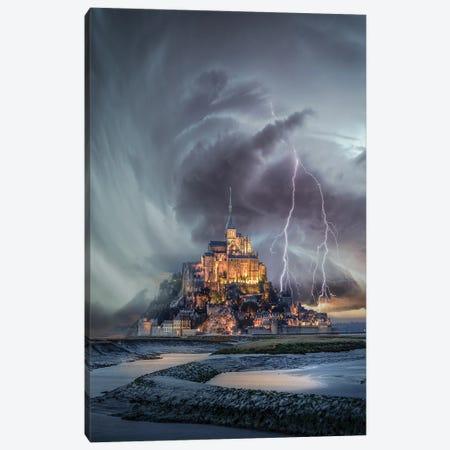 Mt. St. Michael Twist Canvas Print #BSV51} by Brent Shavnore Canvas Print