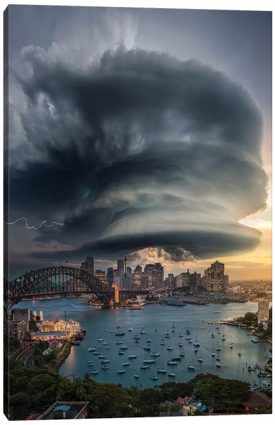 Sydney Supercell Canvas Art Print
