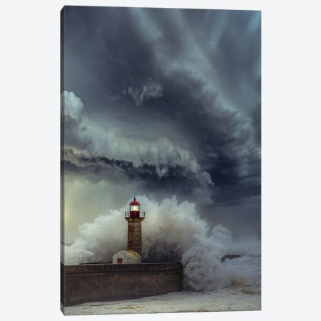 Lighthouse Chaos Canvas Print #BSV54} by Brent Shavnore Canvas Wall Art