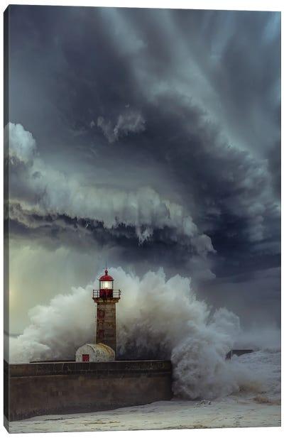 Lighthouse Chaos Canvas Art Print