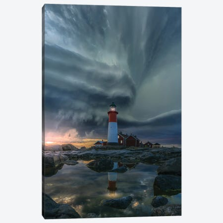 Rocky Light Canvas Print #BSV55} by Brent Shavnore Canvas Art