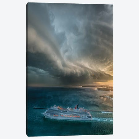 Cruise To Nowhere Canvas Print #BSV57} by Brent Shavnore Canvas Wall Art