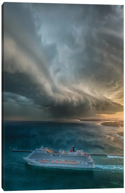 Cruise To Nowhere Canvas Art Print