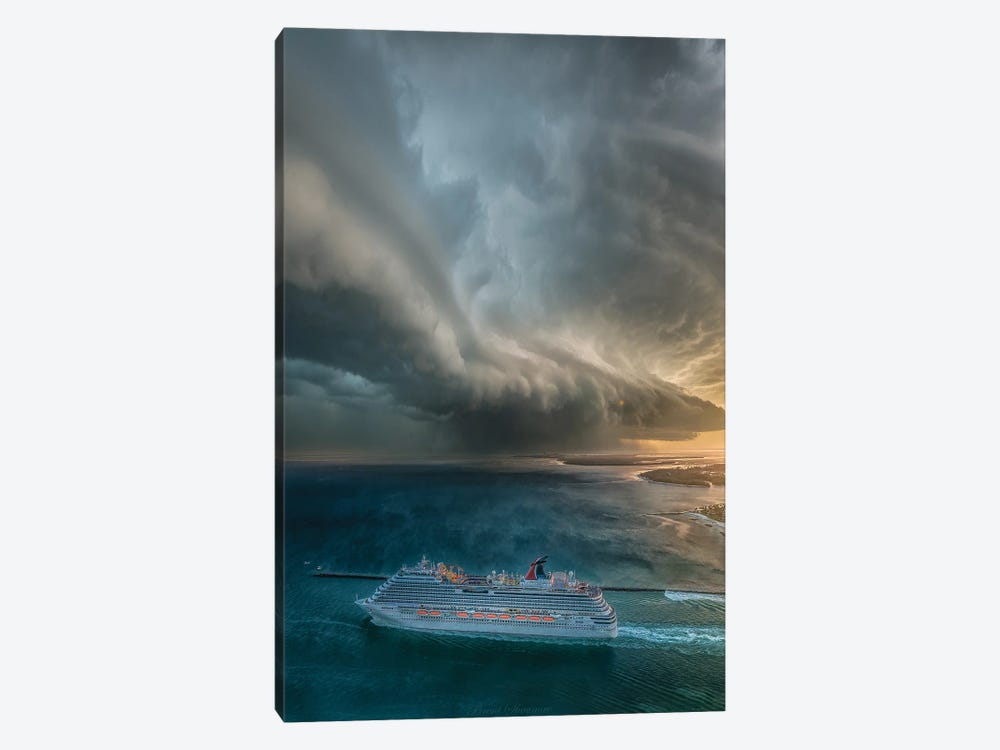Cruise To Nowhere by Brent Shavnore 1-piece Canvas Print