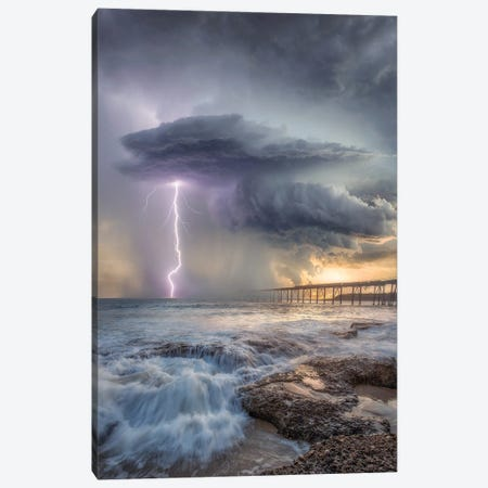 Power Of Catherine Hill Bay Canvas Print #BSV5} by Brent Shavnore Canvas Print