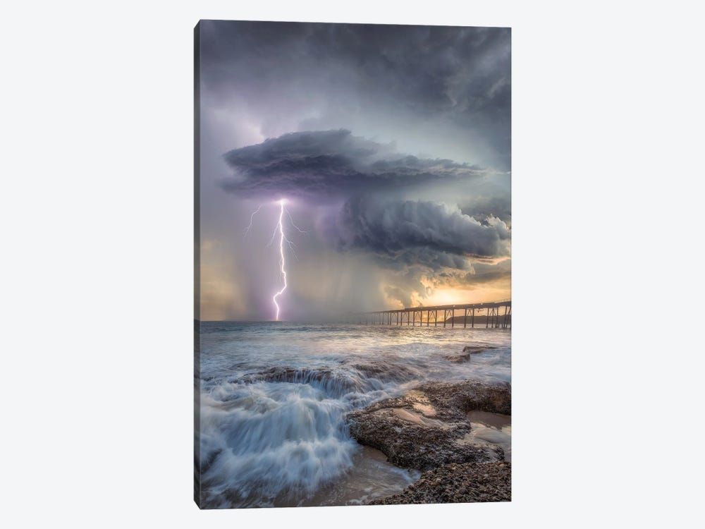 Power Of Catherine Hill Bay by Brent Shavnore 1-piece Canvas Print