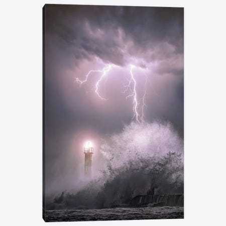 Rainstorm Canvas Print #BSV61} by Brent Shavnore Canvas Art