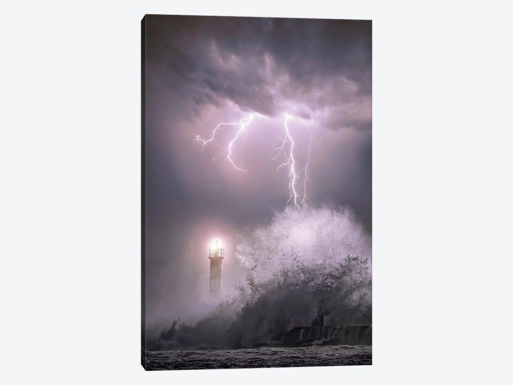 Rainstorm by Brent Shavnore 1-piece Canvas Art