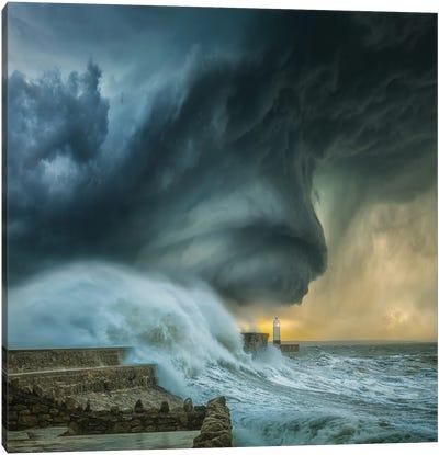 Lighthouse Swirl Canvas Art Print