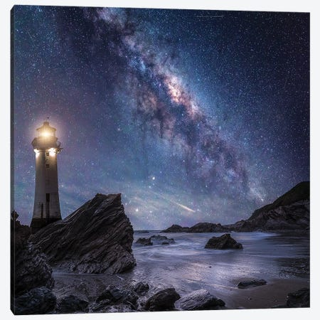 Milkyway Rocks Canvas Print #BSV67} by Brent Shavnore Canvas Art Print