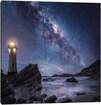Milkyway Rocks Canvas Art Print