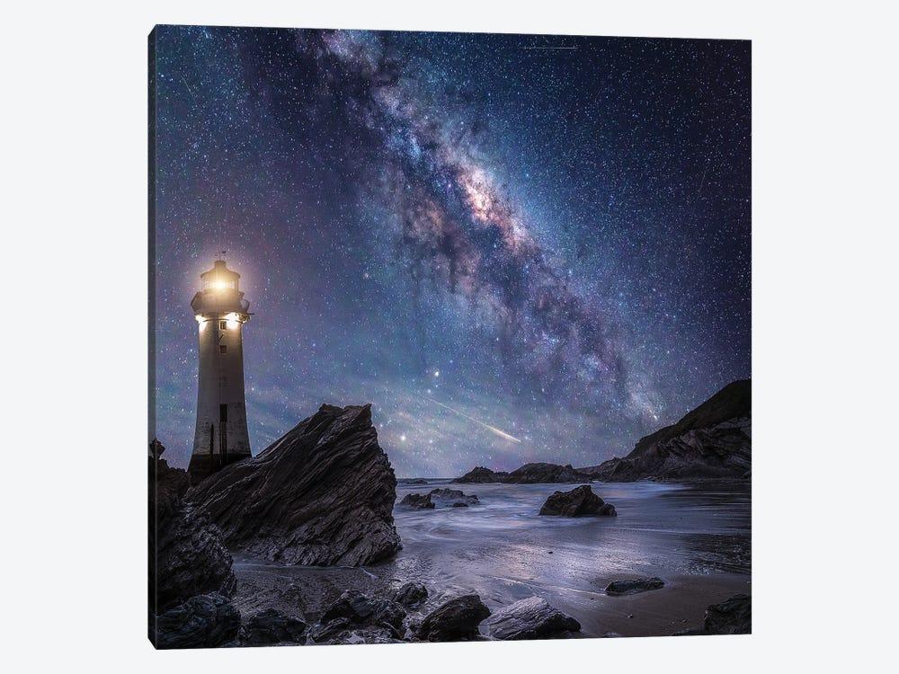 Milkyway Rocks by Brent Shavnore 1-piece Canvas Artwork