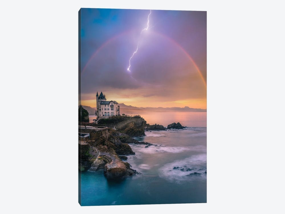 Biarritz Tranquility by Brent Shavnore 1-piece Canvas Art
