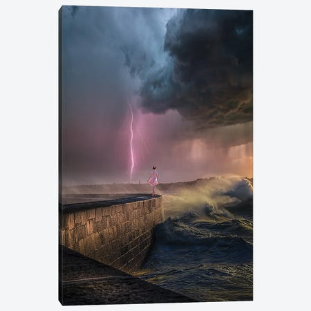 Latham Waves Canvas Print #BSV71} by Brent Shavnore Canvas Art Print