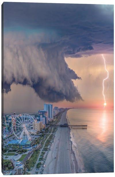 Myrtle Beach Shelf Cloud Canvas Art Print