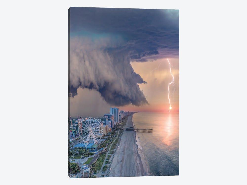Myrtle Beach Shelf Cloud by Brent Shavnore 1-piece Canvas Art Print