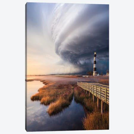 OuterBanx SuperCell Canvas Print #BSV76} by Brent Shavnore Canvas Wall Art
