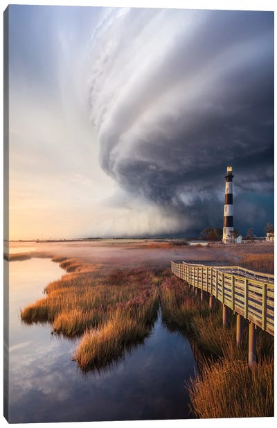 OuterBanx SuperCell Canvas Art Print