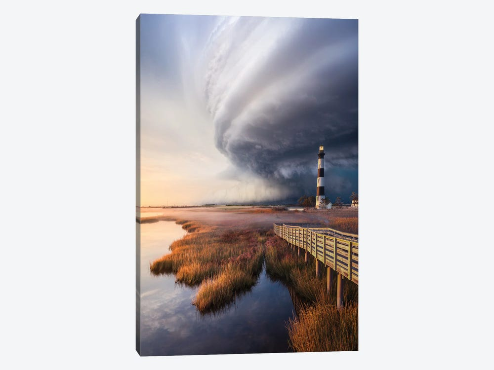 OuterBanx SuperCell by Brent Shavnore 1-piece Canvas Art