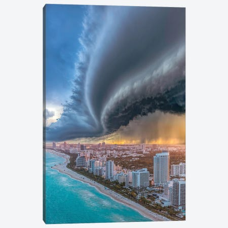 Miami Shelf Shelf Cloud 2.0 Canvas Print #BSV77} by Brent Shavnore Canvas Artwork