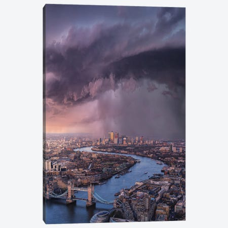 London Tears Canvas Print #BSV83} by Brent Shavnore Canvas Art