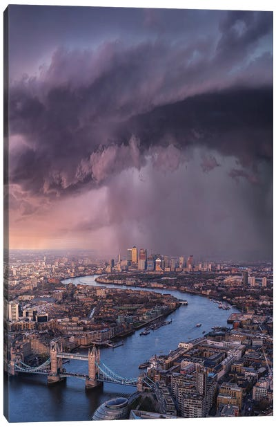 London Tears Canvas Art Print