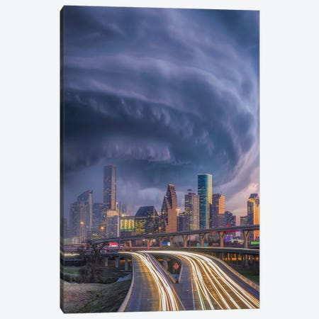Houston Hurricane Laura Canvas Print #BSV85} by Brent Shavnore Canvas Print