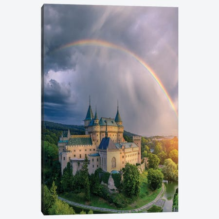 Slovakia Castle Brilliance Canvas Print #BSV8} by Brent Shavnore Canvas Art