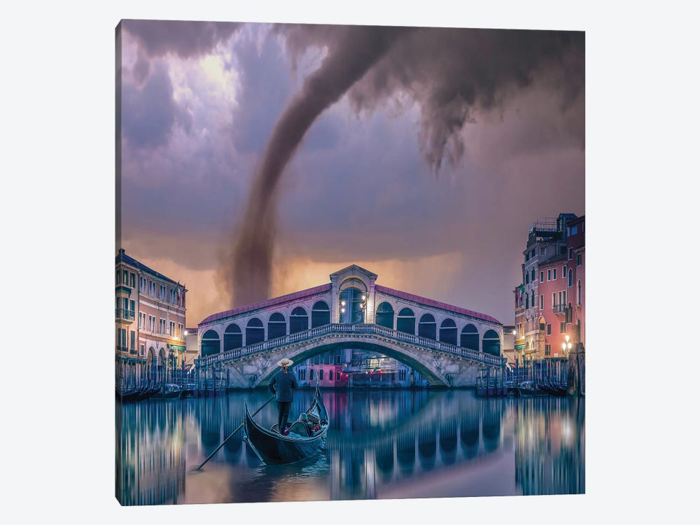 Italy Twist by Brent Shavnore 1-piece Canvas Print