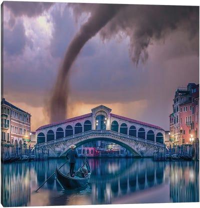 Italy Twist Canvas Art Print