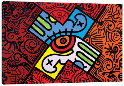 X Marks the Spot Canvas Art Print