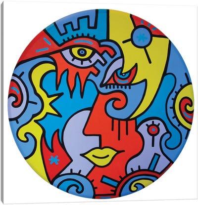 Circle Of Love Canvas Art Print