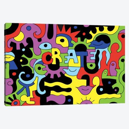 Create Canvas Print #BTA27} by Billy The Artist Art Print