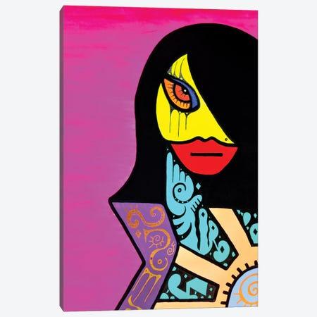 Eva Canvas Print #BTA29} by Billy The Artist Canvas Art