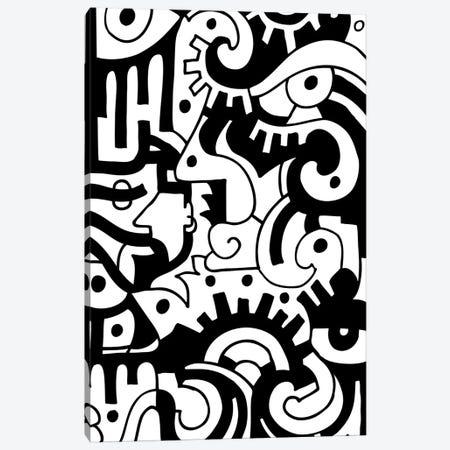 Eye See You Canvas Print #BTA30} by Billy The Artist Art Print
