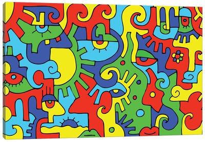 Fusion Canvas Art Print