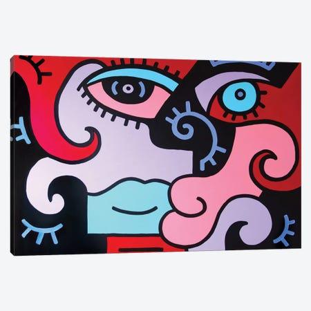 Hello Canvas Print #BTA35} by Billy The Artist Canvas Art
