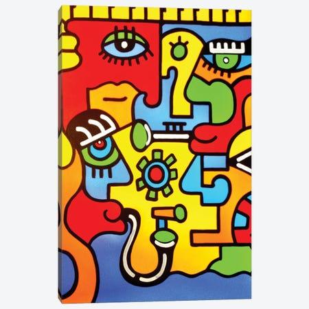 Montreux Canvas Print #BTA47} by Billy The Artist Canvas Art Print