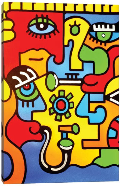 Montreux Canvas Art Print