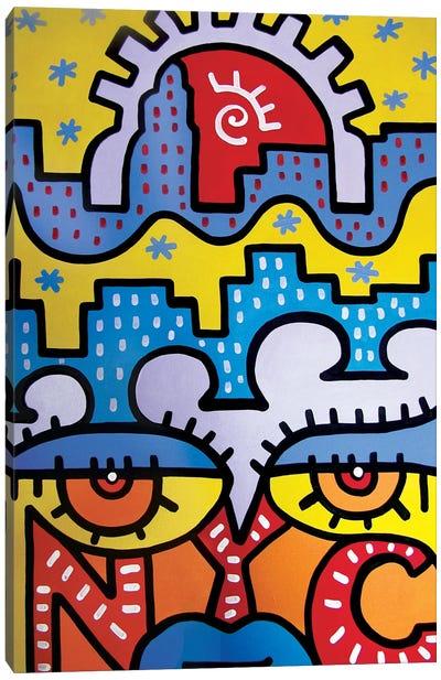 NYC Summer Canvas Art Print