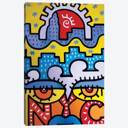 NYC Summer Canvas Print #BTA49} by Billy The Artist Canvas Artwork