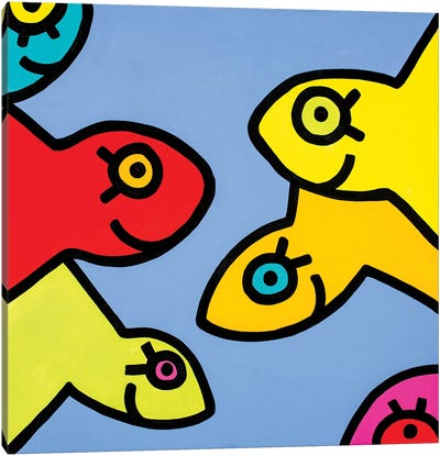 Little Fish I Canvas Art Print