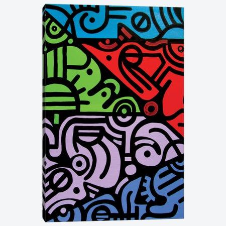 Reflections Canvas Print #BTA52} by Billy The Artist Canvas Art Print